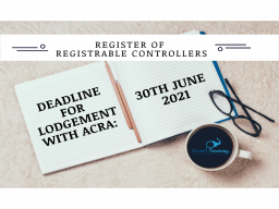 Deadlines for lodgement with ACRA