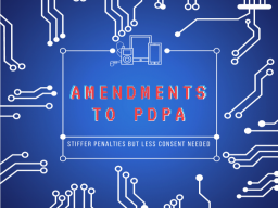AMENDMENTS TO PDPA