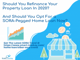 Should your refinance your property loan and should you opt for a SORA-pegged home loan 2020